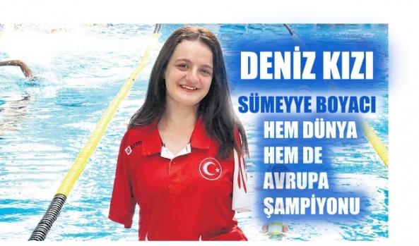 Sümeyye Boyacı; Hem Dünya Hem Avrupa Şampiyonu