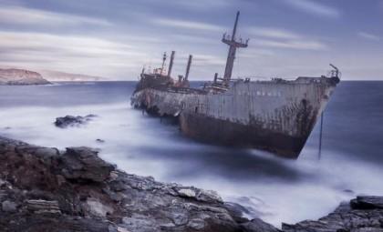 Çürümeye terk edilen görkemli gemiler