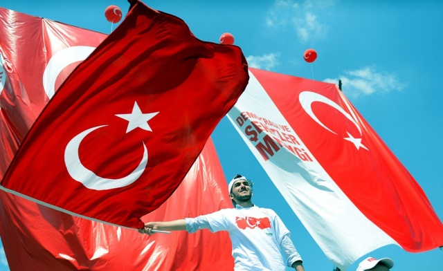 Tek Millet Tek Yürek Demokrasi ve Şehitlerimiz Mitingi