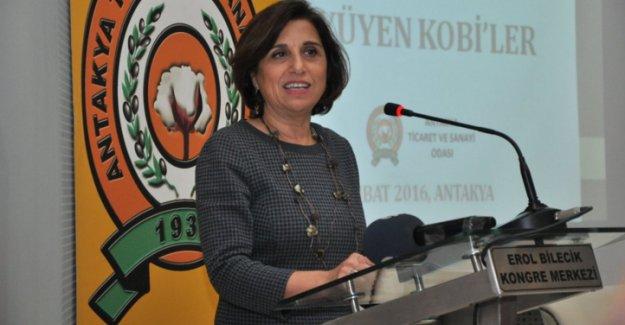 """TÜSİAD Başkanı Cansen Başaran Symes: """"Terör hepimizin canını acıtıyor"""""""