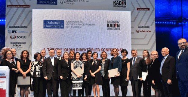 Yönetimde kadın ödülü Türk Tuborg, Turcas, Burçelik, Sanifoam'ın