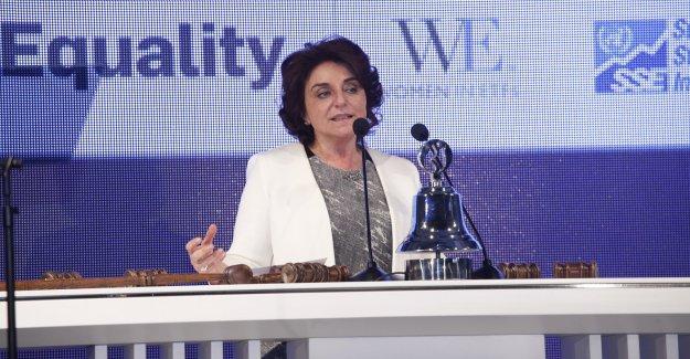 """Nur Ger; """"İş dünyası liderlerini cinsiyet eşitliğine destek vermeye davet ediyorum"""""""
