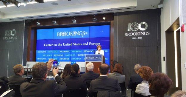 """Cansen Başaran Symes;""""Türkiye Transatlantik Ticaret ve Yatırım Ortaklığı'na dahil edilmeli"""""""