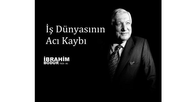 Kale Grubu'nun Kurucusu ve Onursal Başkanı Dr.Hacı İbrahim Bodur hayatını kaybetti