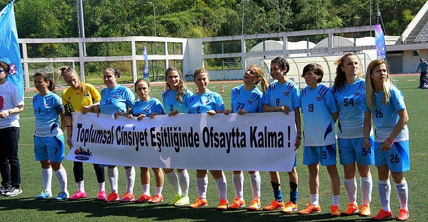 Kızlar Sahada şampiyonu Ford Otosan