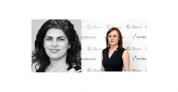 Sinem Çöleri Ergen ve Filiz Kuralay'a Genç Bilim İnsanı Ödülü