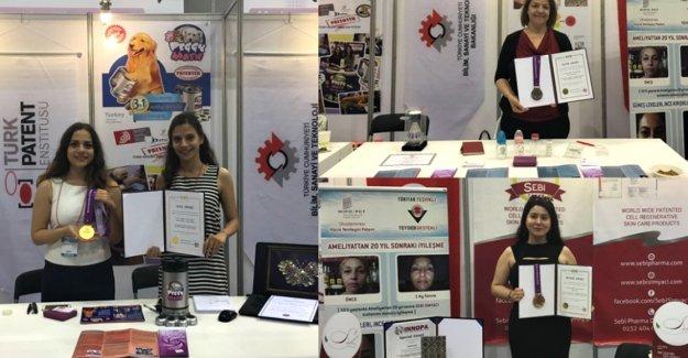 Türk kadın buluşçular Kore'de altın, gümüş ve bronz madalya kazandı