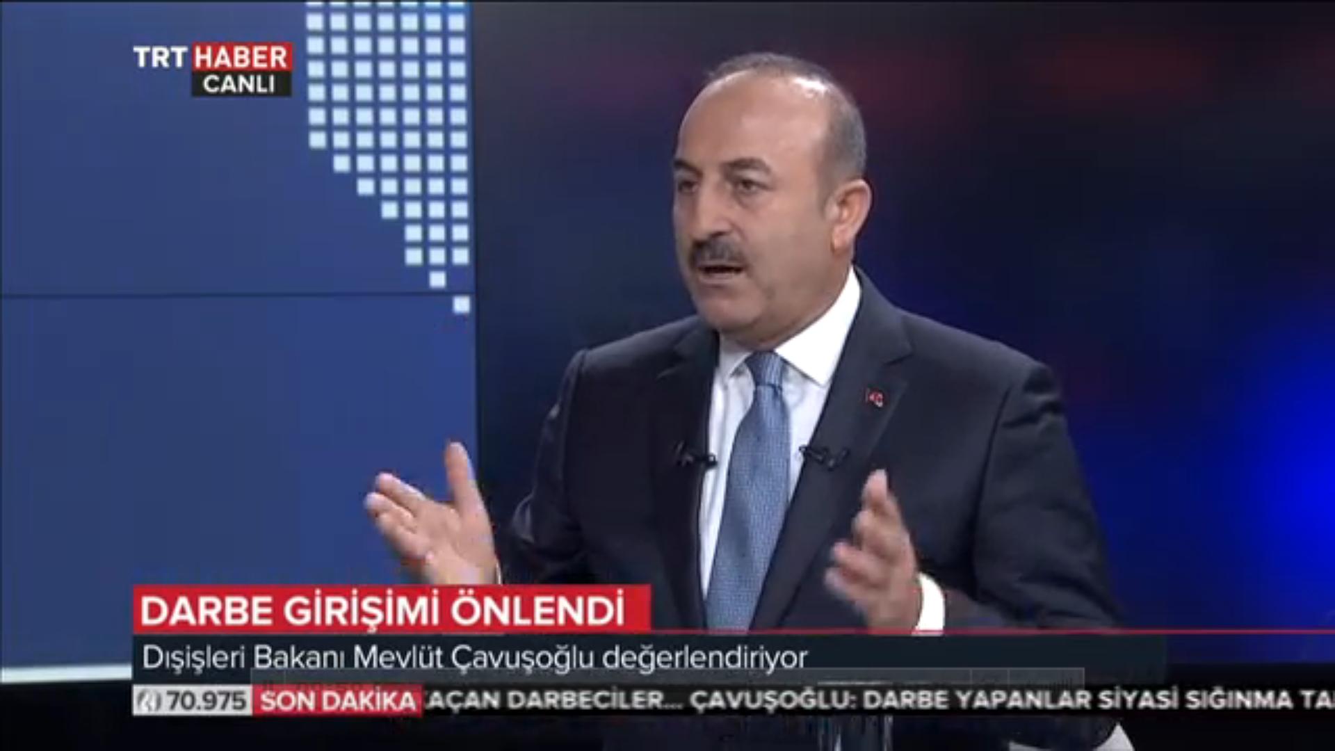 """Çavuşoğlu;""""ABD, kaçmasını önlemeli ve iade etmeli"""""""