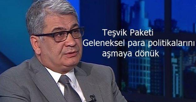 """Cemil Ertem; """"Paket, geleneksel para politikalarını aşmaya dönük"""""""