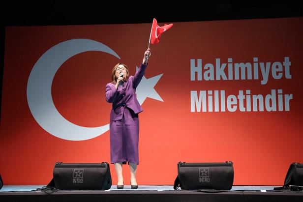 """Fatma Şahin;""""Millet, Menderes'i astırdık yeter Erdoğan'ı yedirmeyeceğiz dedi"""""""