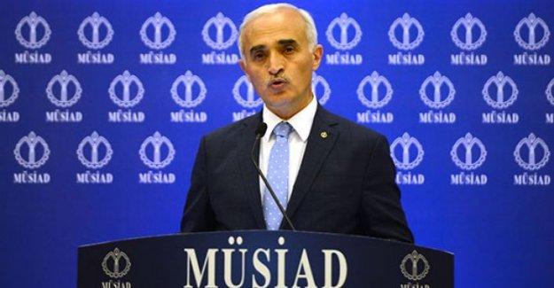 """MÜSİAD Başkanı Olpak: """"Müjdeler paketiyle ticari hayat hareketlenecek"""""""