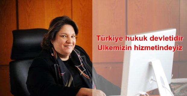 """Zeynep Bodur Okyay;""""Ülkemizin hizmetindeyiz"""""""