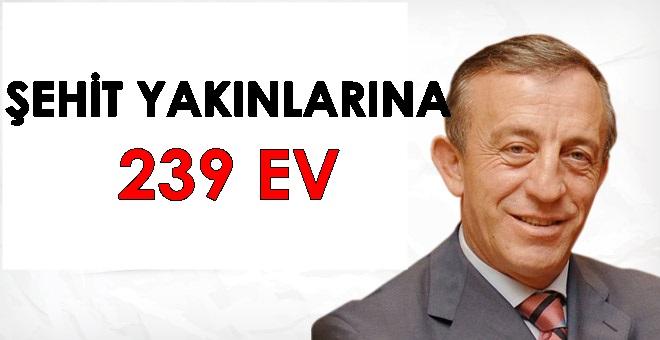 """Ali Ağaoğlu;"""" Levent'te 239 şehit ailesine 239 ev yaparım"""""""