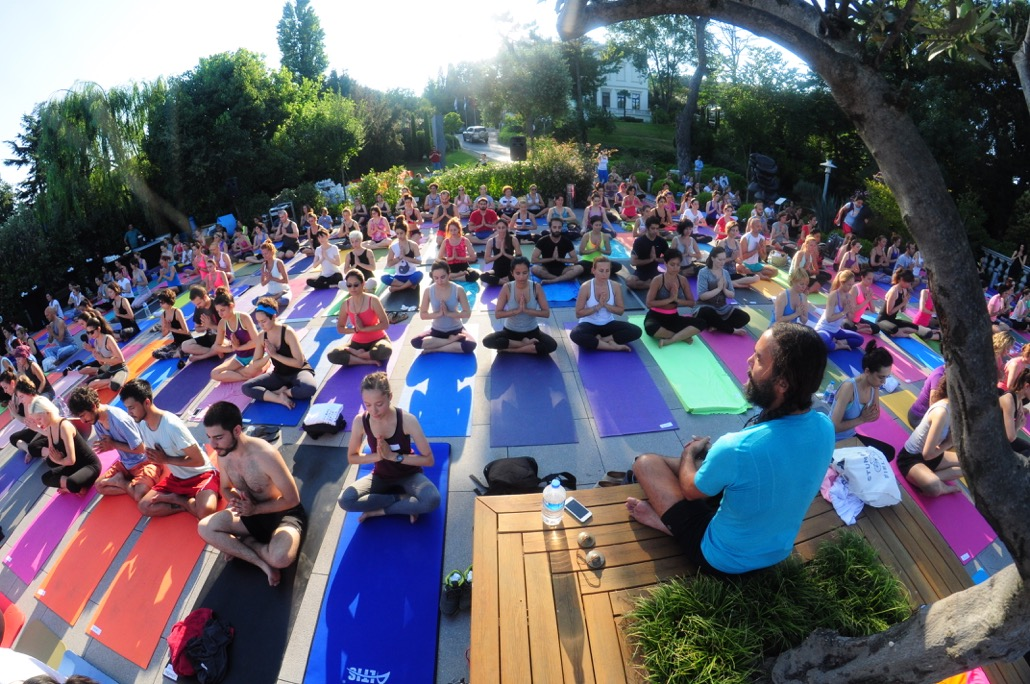 Chavez'den ücretsiz yoga SSM'de