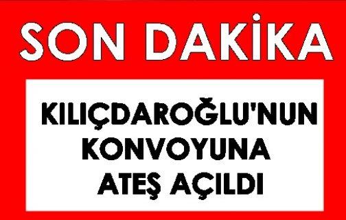 CHP lideri Kılıçdaroğlu'nun konvoyuna Artvin'de ateş açıldı