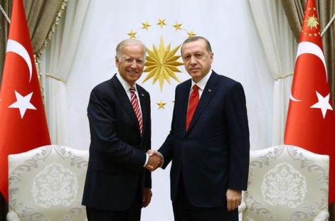 Cumhurbaşkanı Erdoğan ve ABD Başkan Yardımcısı Biden'den işbirliği mesajı