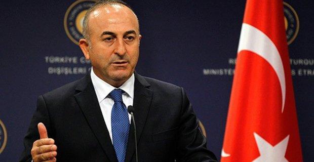 """Dışişleri Bakanı Mevlüt Çavuşoğlu'ndan uyarı;""""YPG Fırat'ın doğusuna geçmezse gereğini yaparız"""""""