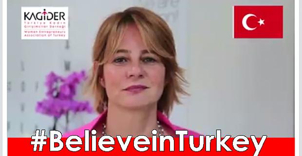 """KAGİDER'den """"Türkiye'ye inanın"""" kampanyası"""