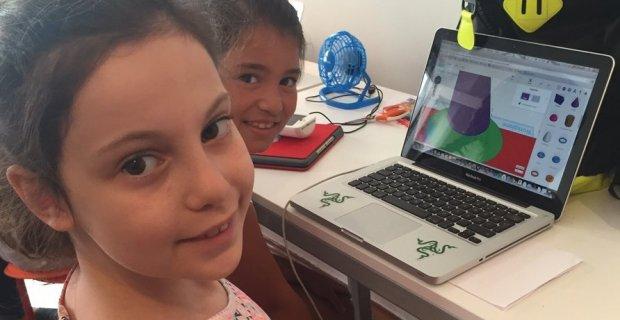 Robincode'dan çocuklara 3 günlük yaz kursu