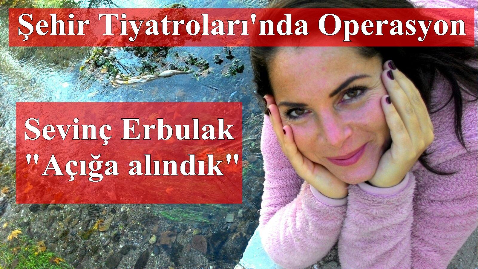 Ünlü oyuncu Sevinç Erbulak açığa alındı