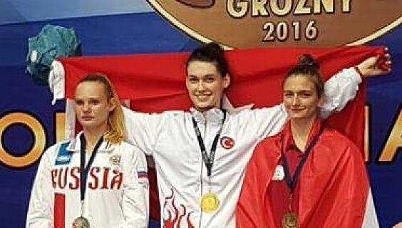 Simge Erensayın Avrupa Tekvando Şampiyonu Oldu