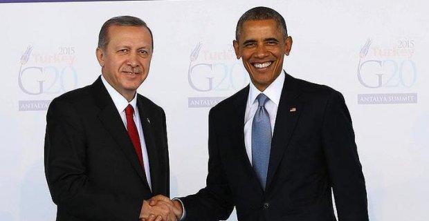 Cumhurbaşkanı Erdoğan ve ABD Başkanı Obama'dan önemli açıklama