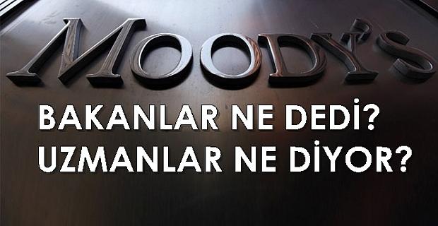 """Moody's kararına bakanlar ve uzmanlardan tepki: """"siyasi ve subjektif"""""""