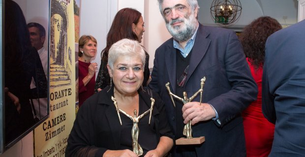 Serra Yılmaz İtalya'nın en iyi kadın oyuncusu seçildi