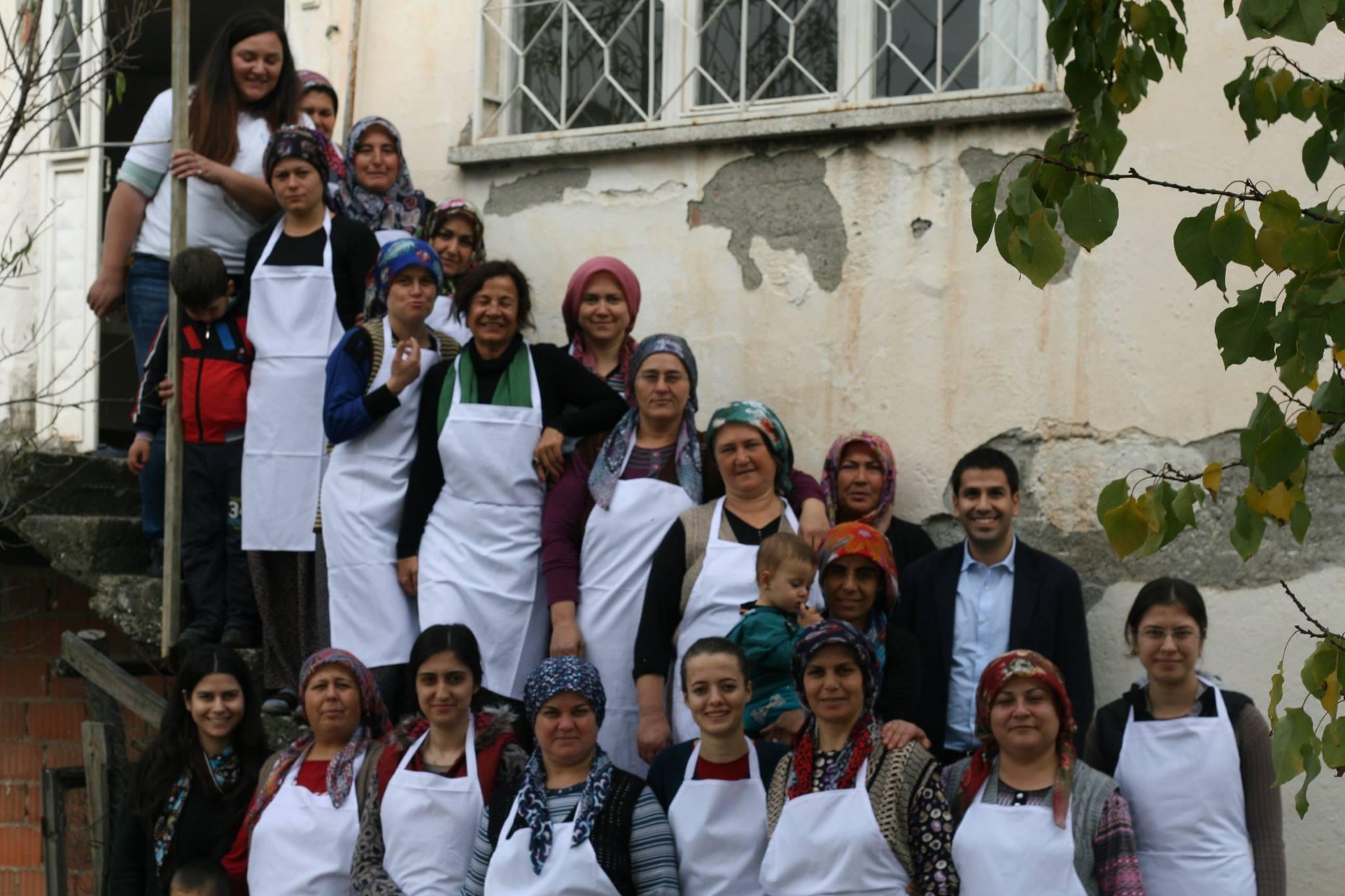 Soma Yırca köyü kadınları imeceye çağırıyor