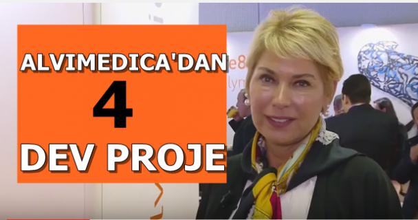 Türk Alvimedica'dan 4dev proje