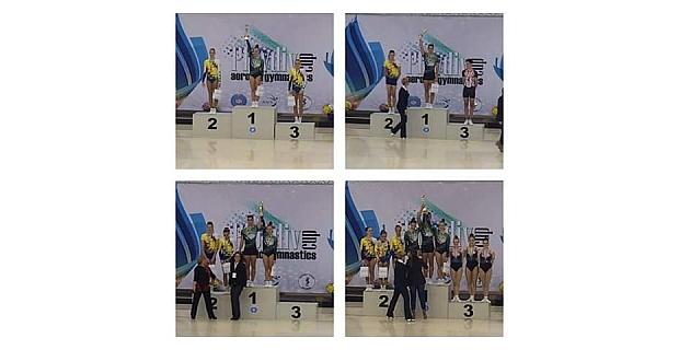 Ayşe Begüm Onbaşı Bulgaristan Plovdiv Cup'da 3 şampiyonluk kazandı
