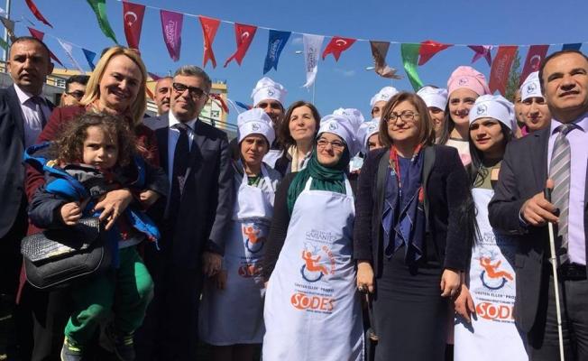 """Gaziantep'te """"Üreten Eller Pastanesi""""açılıyor"""