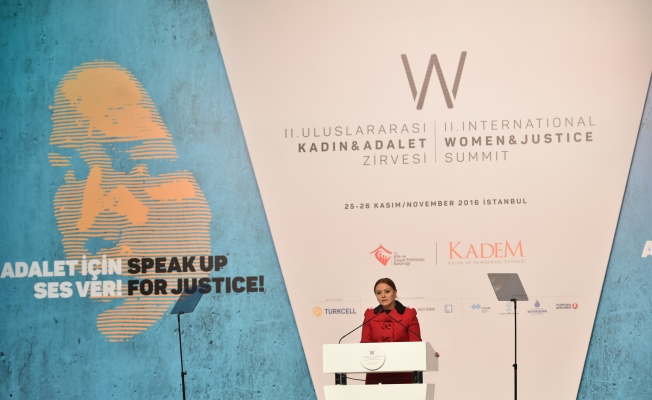 """KADEM Başkanı Sare Aydın,""""Adalet için ses ver!"""""""