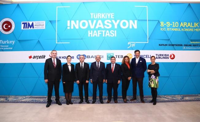 Türkiye inovasyon haftası 8 Aralık'ta İstanbul'da