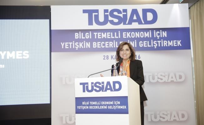 """TÜSİAD Başkanı Başaran-Symes,""""Eğitim sistemi kendini yenileyebilmeli"""""""