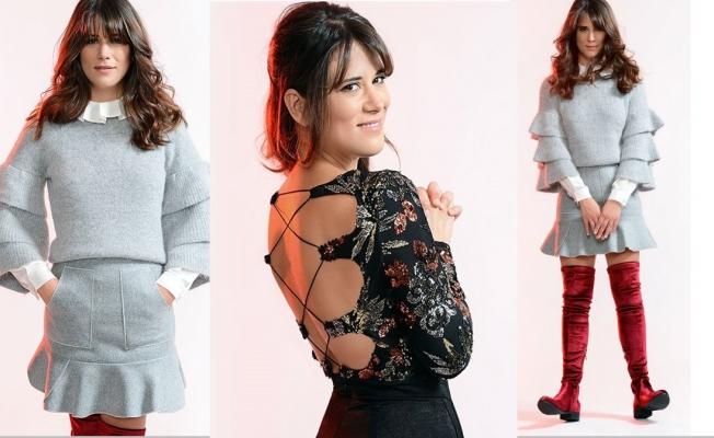 Ayşe Boyner, Fresh için mankenlik yapıyor