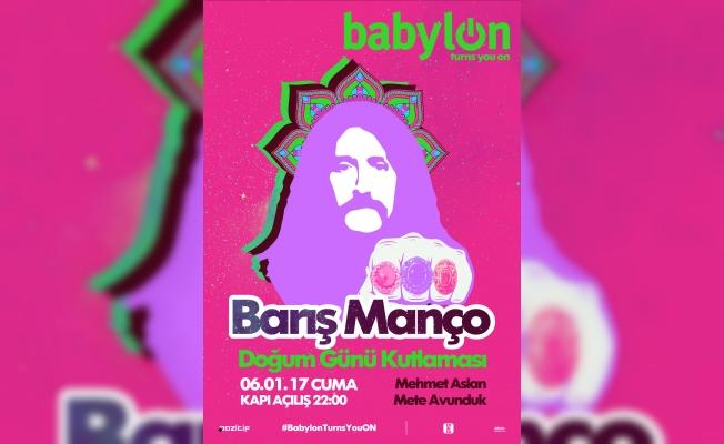 Barış Manço'nun doğum günü Babylon'da kutlanıyor