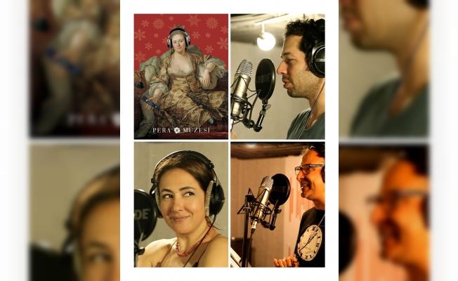 Pera Müzesi'ne gidenleri ünlü sanatçıların sesi karşılıyor