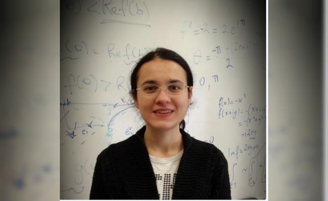 Türk öğrenci Zeliha Kılıç, ABD'de TA ödülü kazandı