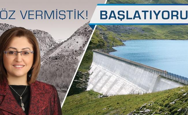 Fatma Şahin sözünü tuttu Gaziantep'in 50 yıllık su sorunu bitiyor