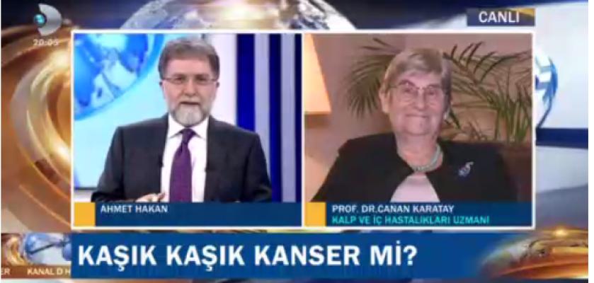 Prof.Dr.Canan Karatay; Palmiye yağı kanserojendir