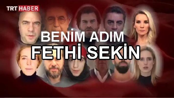 """Şehit polis bin kere doğdu; """"Benim adım Fethi Sekin"""""""