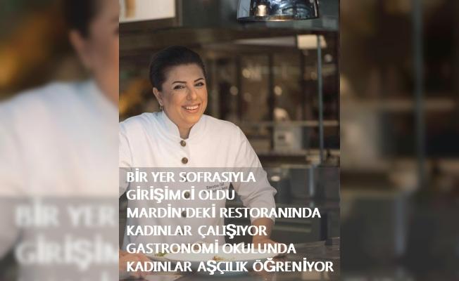 Dünyaca ünlü şef Ebru Baybara Demir, girişimciliğe yer sofrasıyla adım attı