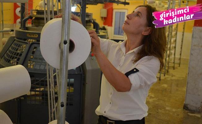 Malatyalı Şehriban Şahin, işçi olarak girdiği fabrikadan kadın girişimci olarak çıktı, kendi fabrikasını kurdu