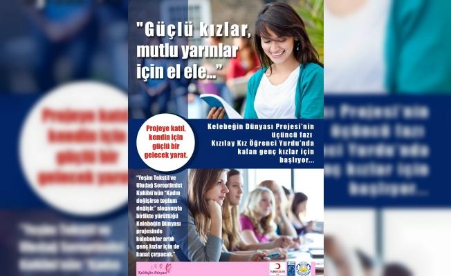 Kızılay Öğrenci Yurdu'ndaki kızlara sağlık,hukuk eğitimi verilecek