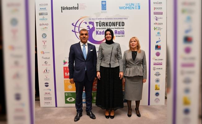 Liderler sürdürülebilir kalkınma hedeflerinde kadının rolünü tartıştı