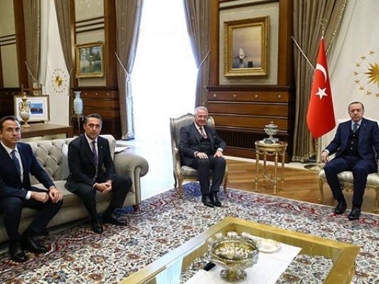 TÜSİAD Heyeti görüşlerini Cumhurbaşkanı Recep Tayyip Erdoğan ile paylaştı