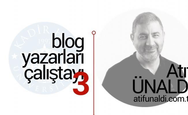 3.Blog Yazarları Çalıştayı 17 Kasım'da