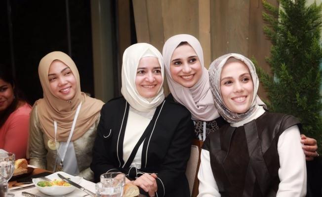 50 ülkenin kadınları 'Ally For Future Genç Kadın Liderlik Eğitim Programı'na katıldı