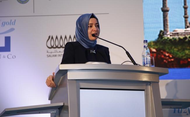 """Aile Bakanı Fatma Betül Sayan Kaya;Mültecilerin yüzde 71'ini kadınlar ve çocuklar oluşturuyor"""""""